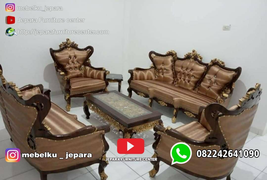 Kursi Sofa Tamu Romawi Inul