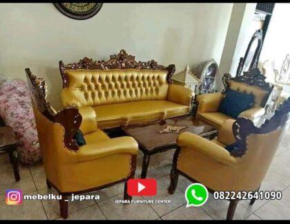 Sofa Tamu Romawi Jati