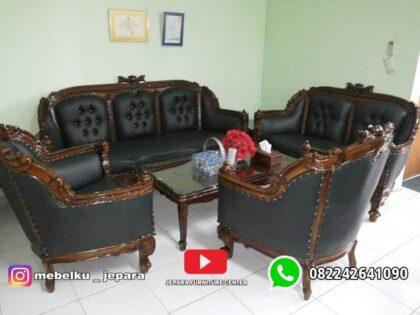 Sofa tamu jati inggris