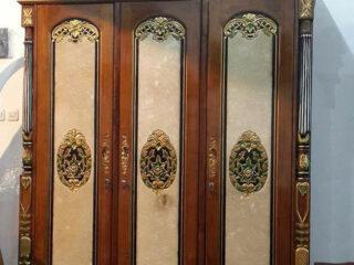 Lemari Pakaian Cinta 3 Pintu Motif Marmer