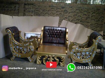 Sofa tamu mewah raffi ahmad