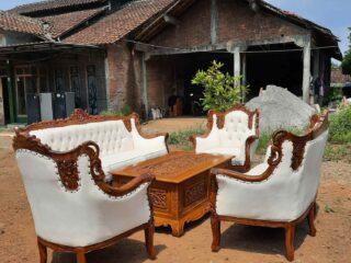 Sofa tamu romawi pot murah